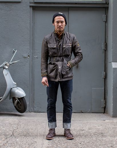 Ben Ferrari's GQ Street Style Photos: Style: GQ