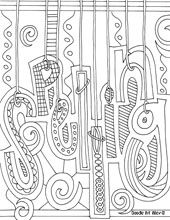 Free Printable School Subject Coloring Pages From Doodle Art Alley
