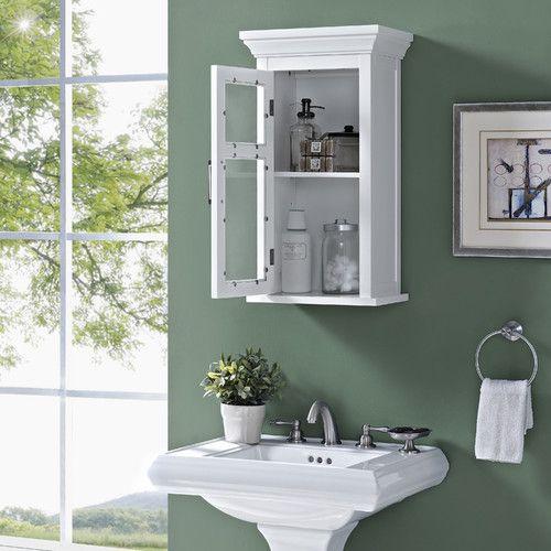 New Single Door Bathroom Wall Cabinet