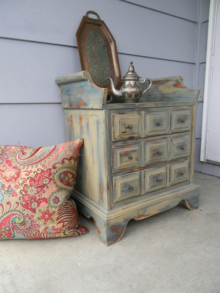 Bohemian Small Chest of Drawers