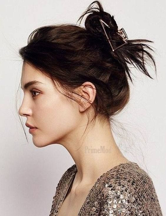 Perfect Claw Clip Twist Hairstyle Trends for 2019