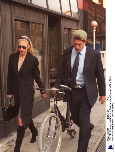 Carolyn Bessette-Kennedy and John Kennedy, Jr.