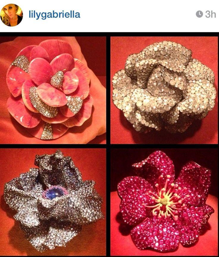 JAR flowers via lilygabriella on instagram  #jewelsbyjar #jarparis #joelarthurrosenthal #overmydeadrubies
