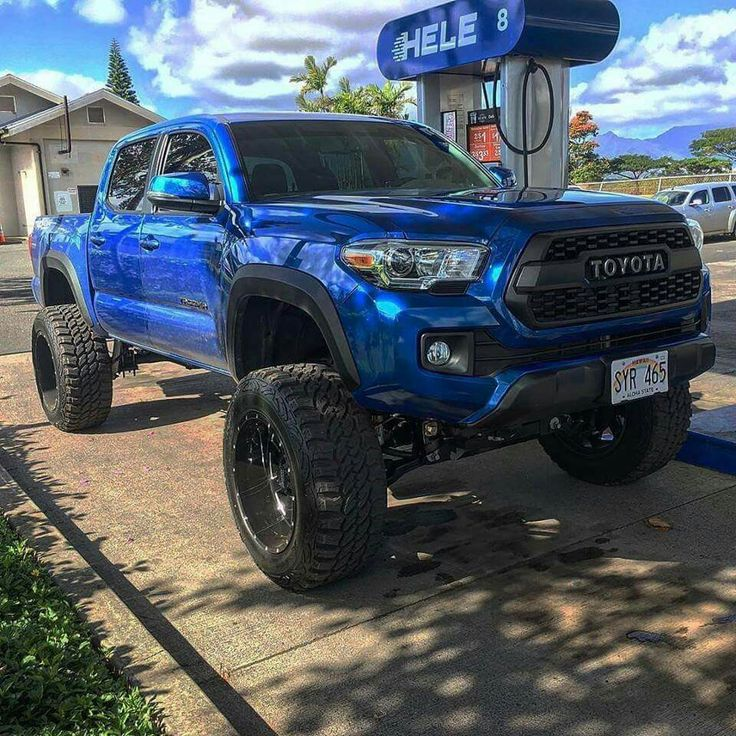 Lifted Tacoma
