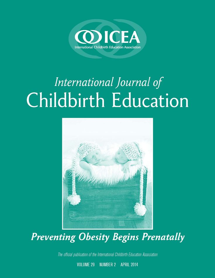 Childbirth Education Certification from International Childbirth Education Association