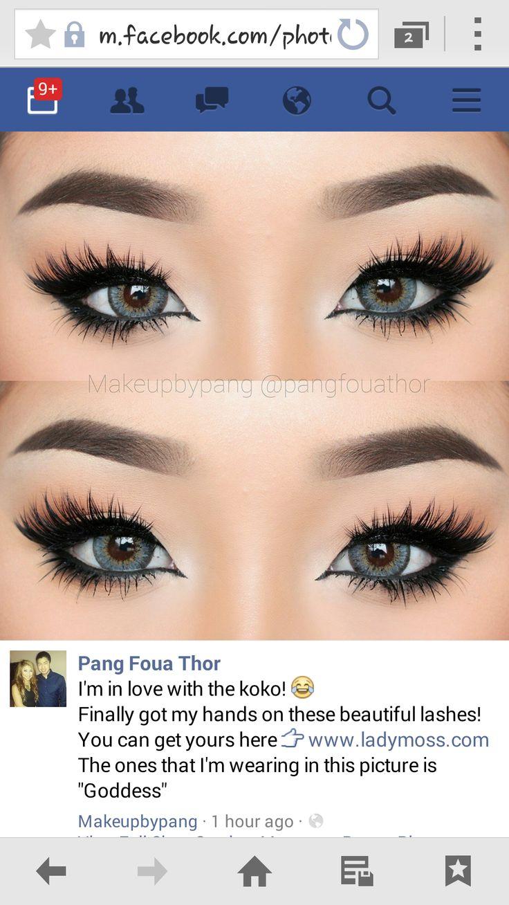 Koko Lashes in Goddess Pang Foua Thor | Make-ups: House of ... House Paint Brushes