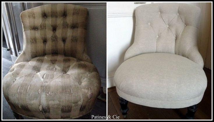 Les 25 meilleures id es concernant petit fauteuil crapaud sur pinterest cha - Restauration fauteuil crapaud ...