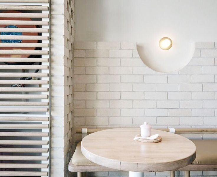 _ _ Interior Inspiration _ Matt Woods' beautiful design for The Dessert Kitchen in Sydney. _ Feeling inspired by brick and semi-circles for a project I'm currently working on. @killingmattwoods you are seriously talented  _ #interiorarchitecturethatinspires #interiorwarrior #interiorinspo #interiors #designlover #investindesign #designlife #interiorlovers #interiordesigner #interiordesign #designthatinspires #australiandesign #australianinteriors