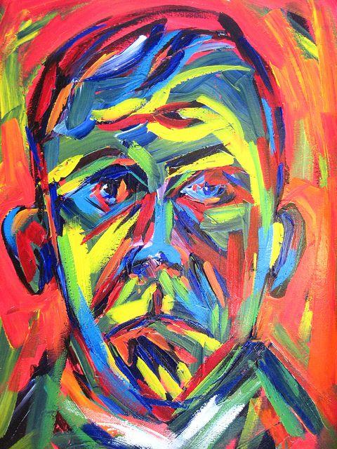 Self Portrait, Oskar Kokoschka.