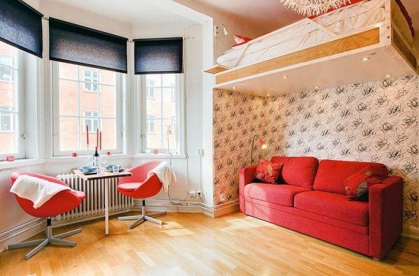 Studio Apartment Interior Design Photo Decorating Inspiration