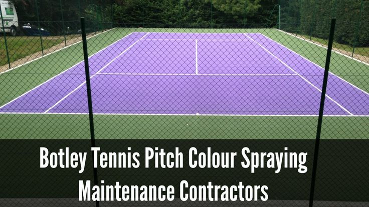 Botley Tennis Pitch Colour Spraying Maintenance Contractors http://tenniscourtcontractors.co.uk/applications/tennis-court-colour-spraying/hampshire/botley is...