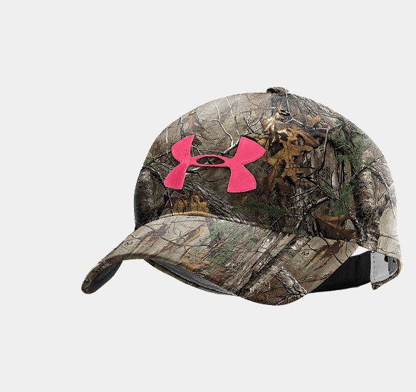 Women's UA Camo Logo Adjustable Hat | 1230147 | Under Armour US