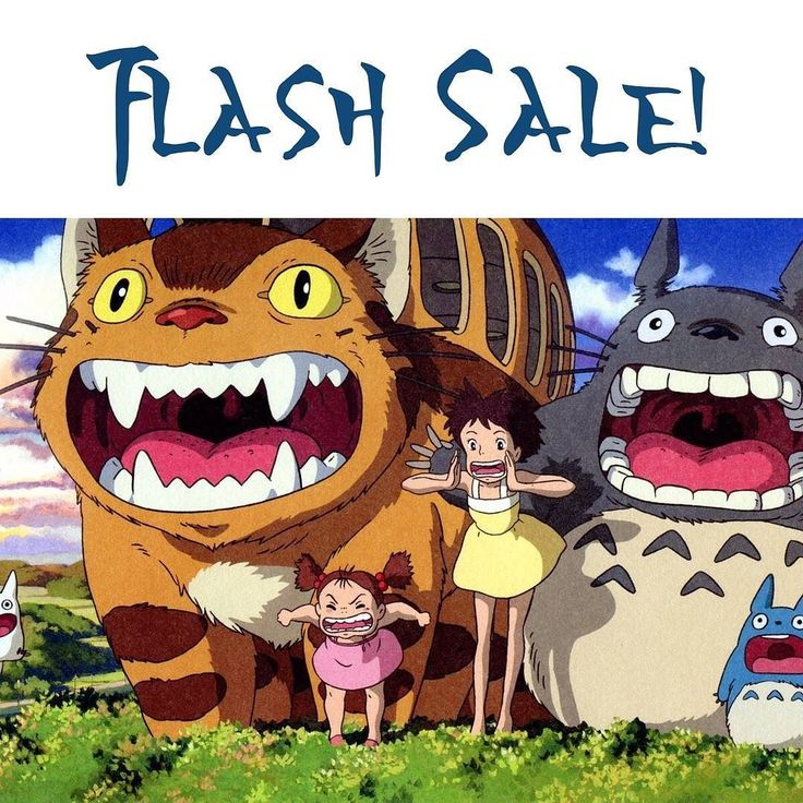 #FLASHSALE! We're celebrating a team member's birthday today and we thought we'd spread a little Ghibli love with a flash sale!  So for the next 48 hours all purchases over $40 will receive a 10% discount when using the code HAPPYBIRTHDAY10 at the checkout!  Don't forget we offer #freeshipping on all orders as well!  #ghibli #howlsmovingcastle #totoro #myneighbortotoro #ponyo #kikisdeliveryservice #spiritedaway #porcorosso #studioghibli #hayaomiyazaki #ghiblilove #princessmononoke…