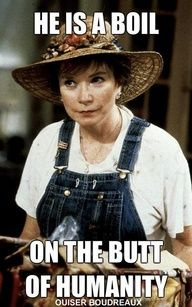 Steel Magnolias - not a TV show, but still a favorite :)