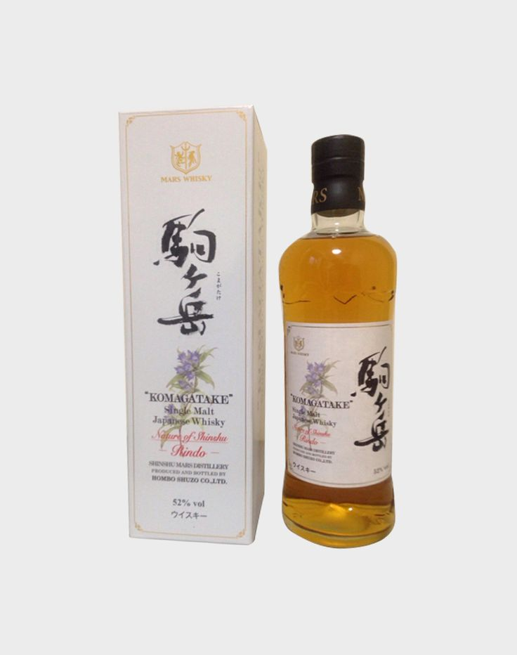 Mars Shinshu might not be the largest whisky distillery in Japan, but it more than makes up for its size with its elegance and grace. The Komagatake Pure Malt 10 Years Old is a pure malt, with no added grain whisky. Distilled at the highest operational distillery in Japan, and blended from carefully selected malts.This …