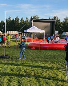 outdoor movies under the stars family movie night big screen movie outside langley things to do family events