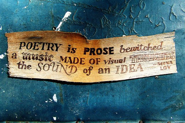 """How the Modern poets made poetry """"new"""" was defined not only by the most well known of the Era's poets, it was also explained by Mina Loy in her essay, """"Modern Poetry."""""""