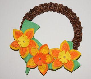 Tvoření pro radost: Jarní a velikonoční dekorace pletené z papíru