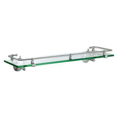Best Gatco Premier Railing Glass Shelf In Chrome Glass 400 x 300