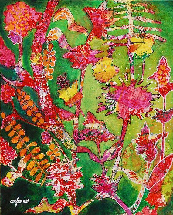 Les 25 meilleures id es de la cat gorie fleur toile de peinture sur pinterest peinture de for Peinture de qualite