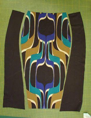 PoldaPop Designs: Free Sewing Tutorial: Curvy Color Block Ponte Knit Pencil Skirt