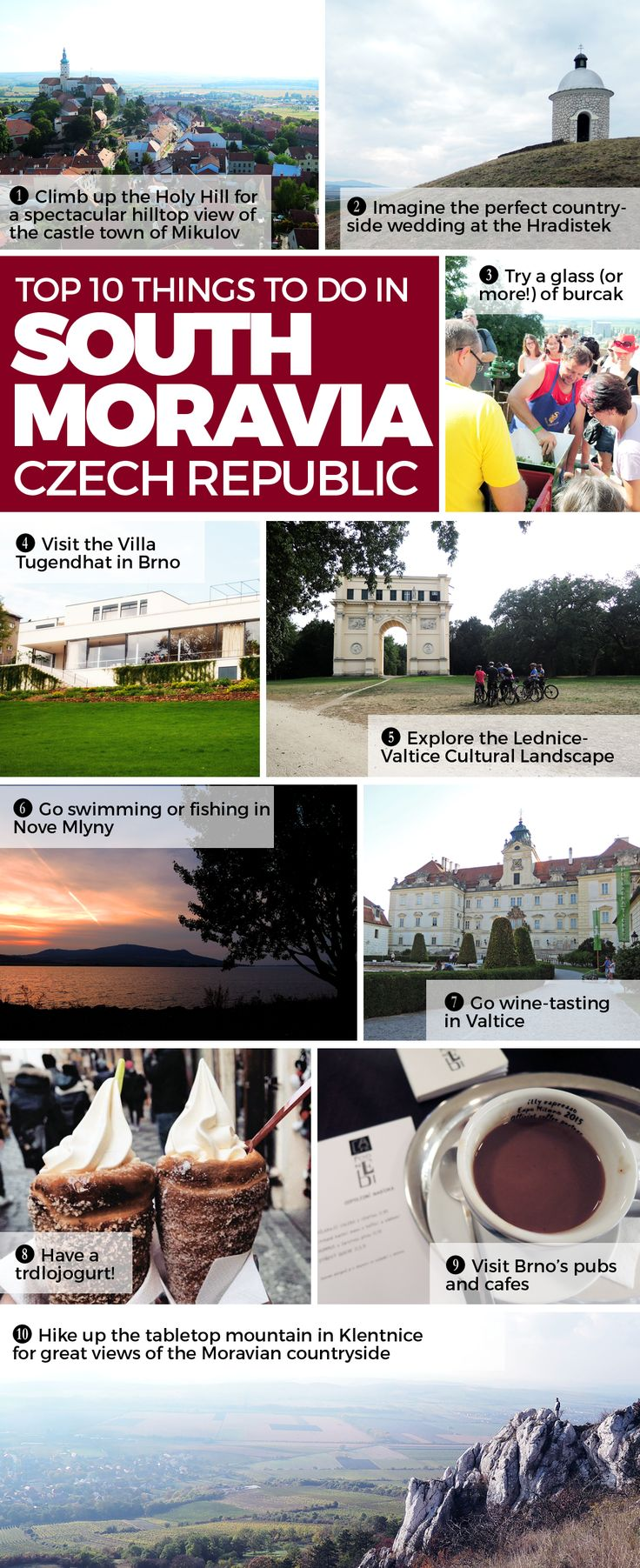 """Are you headed to Central Europe? Here are the top reasons to add South Moravia to your itinerary! If you're going """"South Mora-WHAT?"""", all the more reasons to read on and CZECH OUT the Czech Republic's luscious wine region!"""