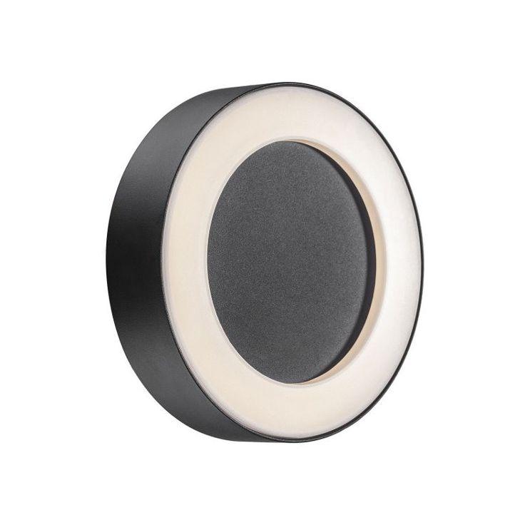 Nordlux Teton LED Wall & Ceiling Light - Black