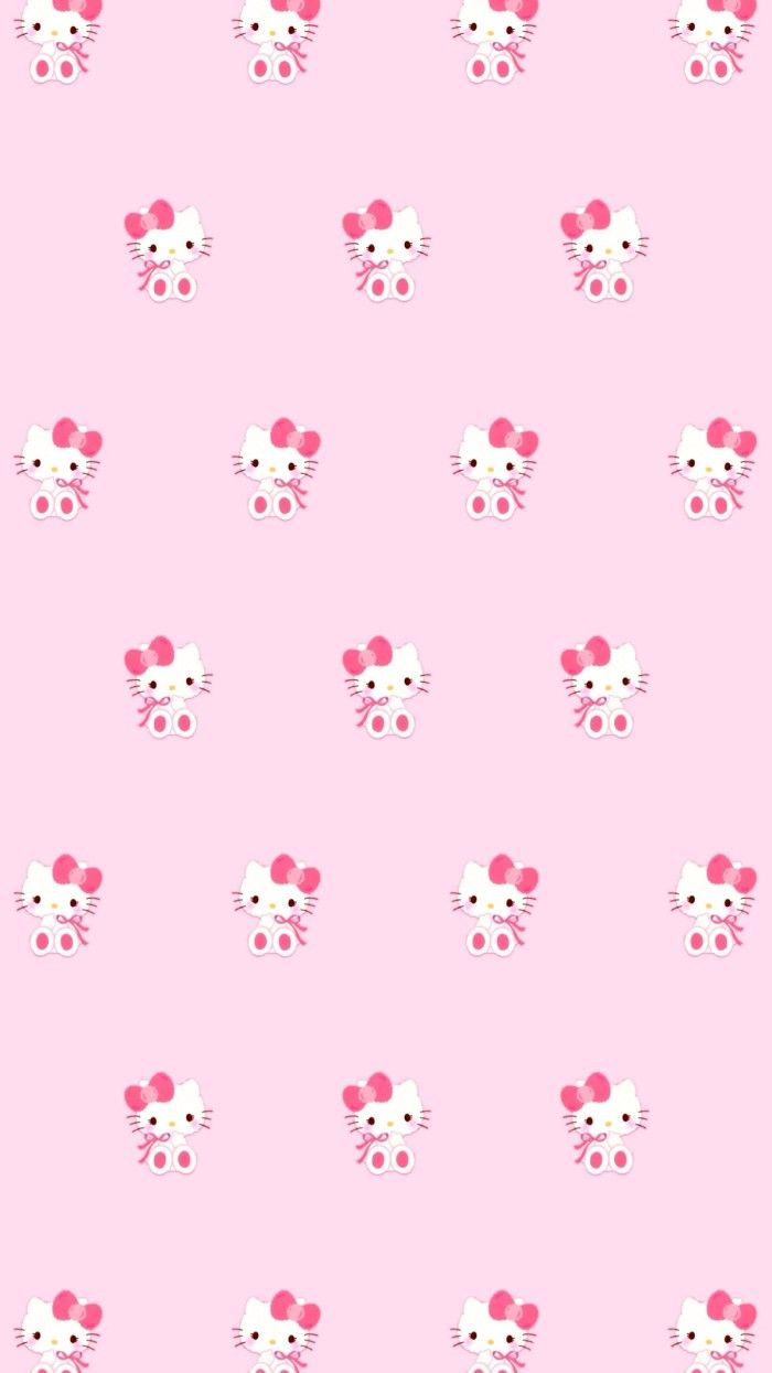 Pin by Lauren Bergeron on Hello kitty  Pink wallpaper hello kitty