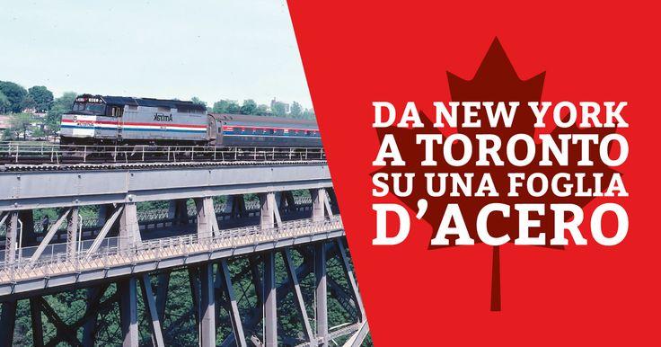 Oggi BOB ci porta alla scoperta del Canada e raggiungerà Toronto a bordo della Maple Leaf, una linea ferroviaria che la collega direttamente a New York.  https://tasc.it/2015/12/30/viaggiare-new-york-toronto-foglia-dacero