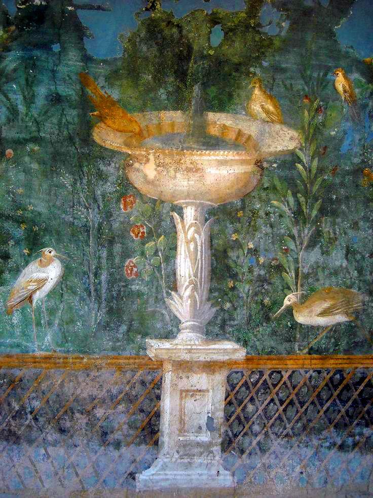 57 Best Images About Roman Garden Frescoes On Pinterest