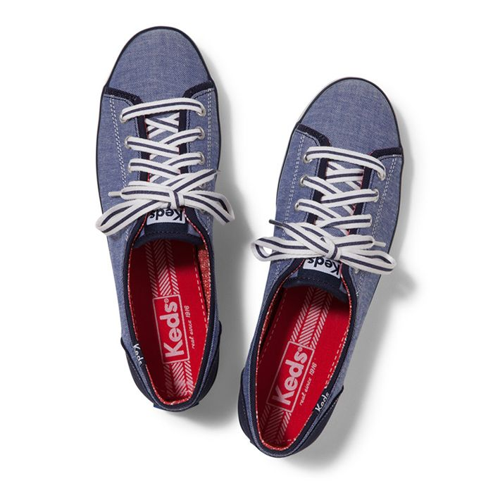 Keds Taylor Swift - Zapatillas de lona para mujer Zig Zag Red T4uTFUz