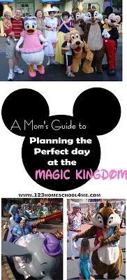 Dreaming of Disney Magic Kingdom ~ Planning the Perfect Day at the Magic Kingdom | 123 Homeshcool 4 Me