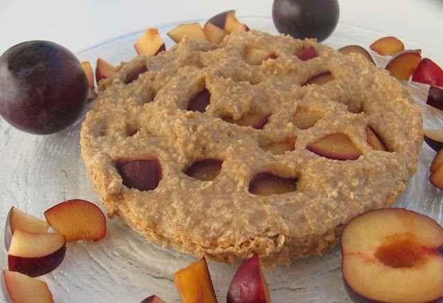 Size Zero Rezept Pflaumen Quark Kuchen Woche 1 2
