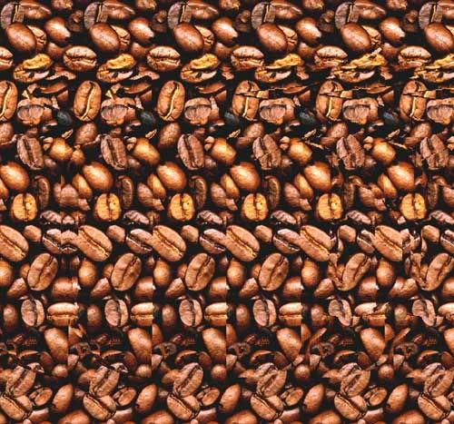 Magic eye: 3D coffee cup. I still love that I have the ability to see these pictures! LOL!