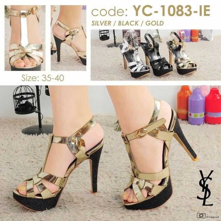 High Heels YSL YC-1083-IE 13cm 35-40 330rb