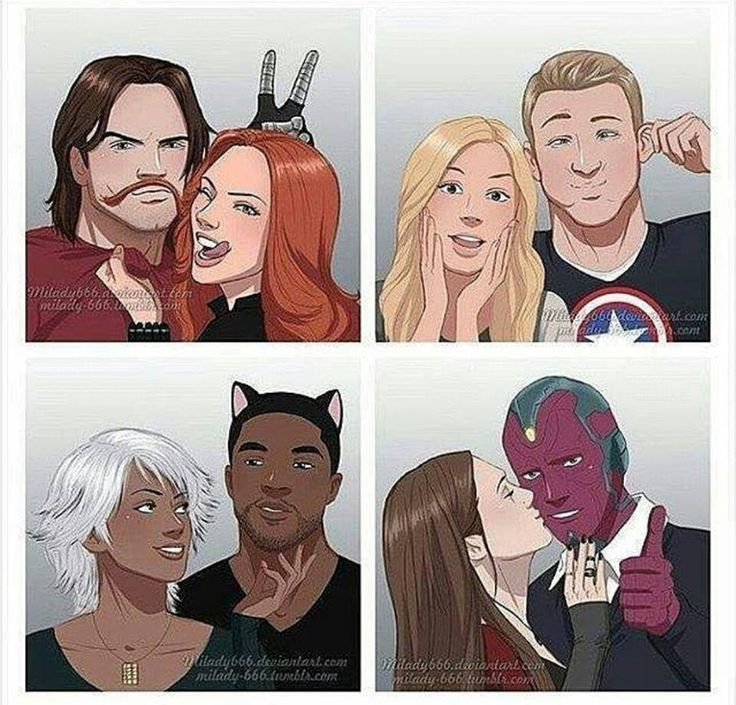 Parejas de Marvel