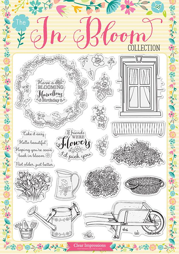 Grab your #FREE In Bloom stamp set with Creative Stamping 24!