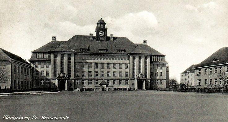 Königsberg Pr.                  Amalienau, Krausschule