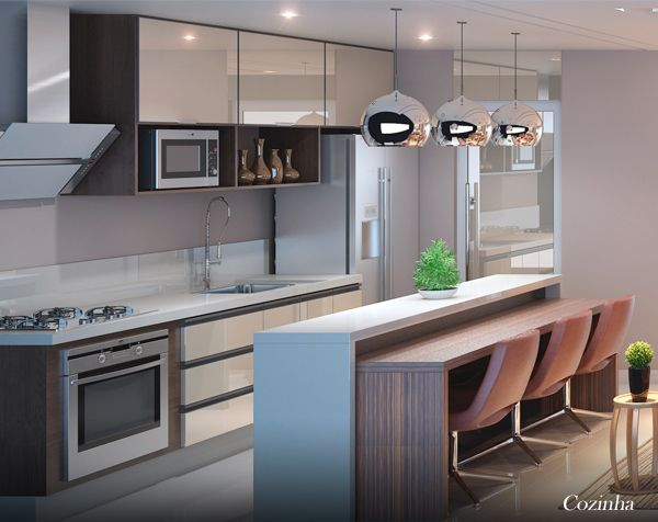 Perspectiva Ilustrada Cozinha