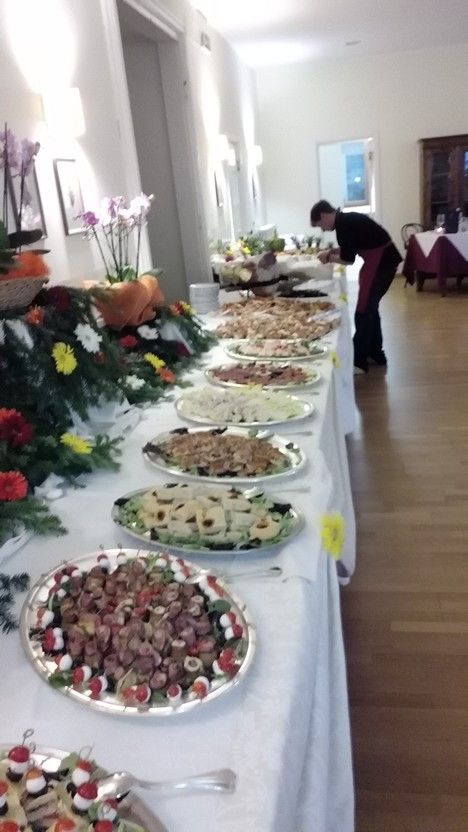 Buffet ferragosto with chef intrusion