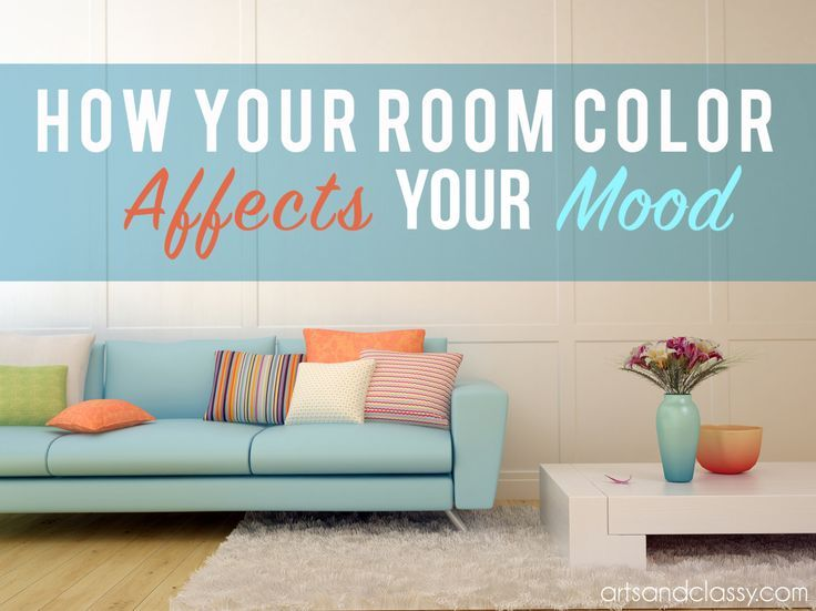 how your room color affects your mood via