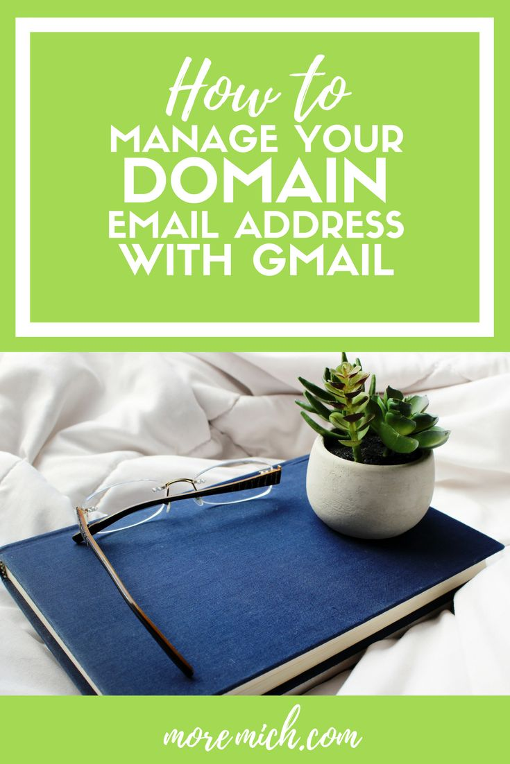 Use Gmail to manage your domain email address for free. Gmail's interface is clean, clutter-free and more user-friendly than most webmail clients.