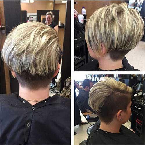 15 Rückansicht Bilder von Spectacular Pixie Schnitte  Smart Frisuren für Moderne…