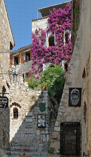 villaggio di Eze, Alpes-Maritimes, Provence