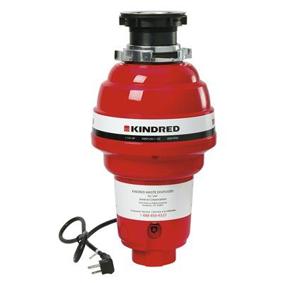 Kindred KWD125C1/EZ Continuous Feed Food Waste Disposer