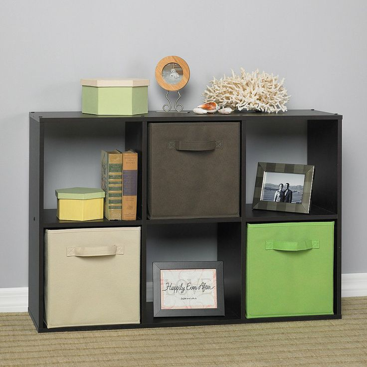 Target : ClosetMaid Cubeicals® 6 Cube Organizer Espresso : Image Zoom   For  Nursery   Like The Colors Too