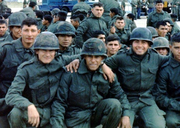 Soldados argentinos.