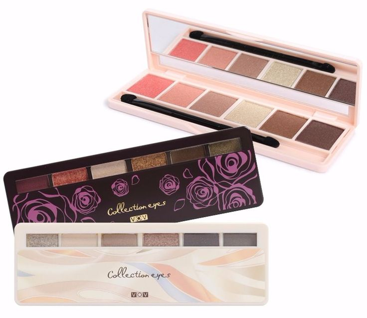 VOV Collection Eyes 6 Color Eye Shadow Pallet #VOV