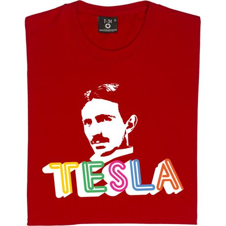Nikola Tesla T-Shirt. The genius that was Nikola Tesla, creator of countless inventions and responsible for much of...