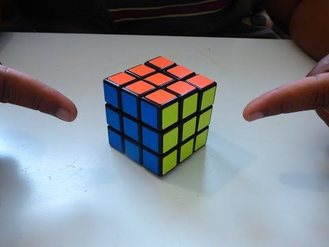 How to solve a rubik's cube in 2 EASY MOVES! - YouTube